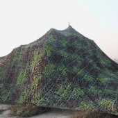 Multispectral Camouflage Net 2D and 3D